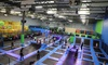 Jump Park Trampoline  - Millshaven: Indoor Jumping at Jump Park Trampoline (Up to 49% Off).  Four Options Available.
