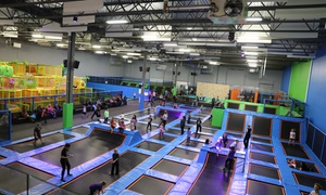 Up to 49% Off Indoor Jumping at Jump Park Trampoline  at Jump Park Trampoline , plus 6.0% Cash Back from Ebates.