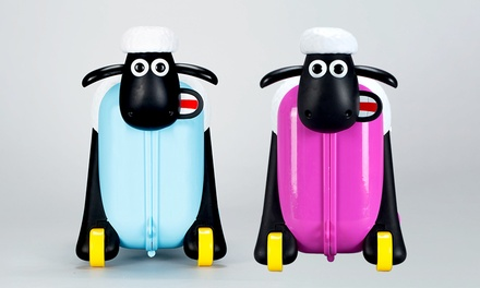 Shaun the Sheep 14l Capacity Ride On Suitcase