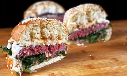 ⏰ Menu burger gourmet a 18,90€euro