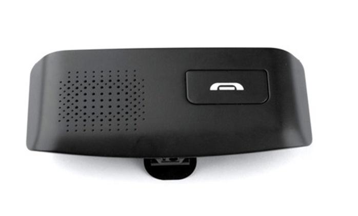 דיבורית Bluetooth לרכב, בעלת איכות שיחה צלולה, המתאימה לכל מכשירי הסלולאר