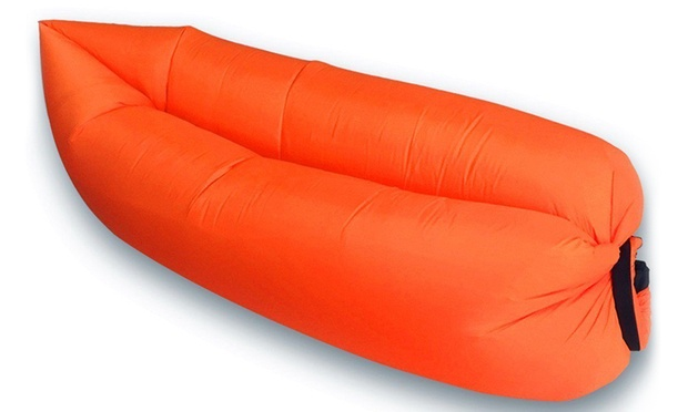 portable fast inflatable sofa bed groupon goods. Black Bedroom Furniture Sets. Home Design Ideas