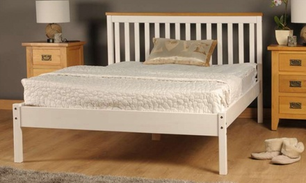 handmade wooden medina bed frame