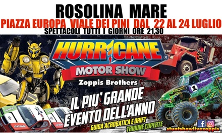 Coupon Esperienze Groupon.it Hurricane Motor Show, Rosolina Mare