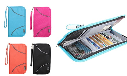Anti Skimming RFID Blocking Travel Wallet: One ($16) or Two ($26)