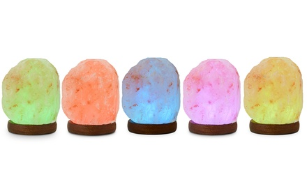 Colour-Changing Salt Lamp