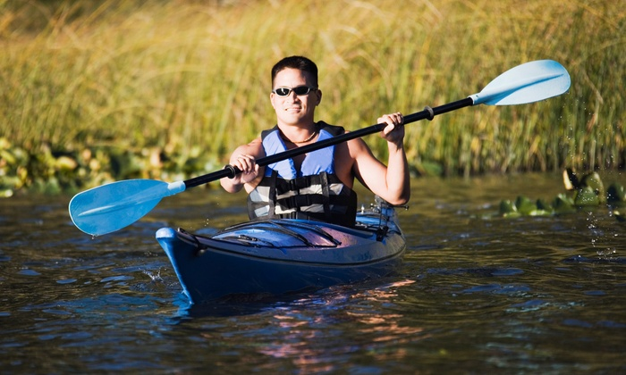Moss Bay Rowing, Kayaking, Sailing and Paddle Board Center - Seattle: Paddleboard, Single or Double Kayak Rental from Moss Bay Rowing, Kayaking, Sailing & Paddle Board Center (50% Off)