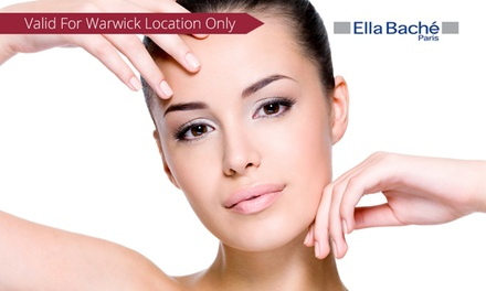 Hydrodermabrasion One $59, Two $89 or Three Visits $129 at Ella Express Warwick Up to $420 Value