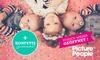 Kids-Friends-Fotoshooting + Konfettiregen + Bilder bei Picture People
