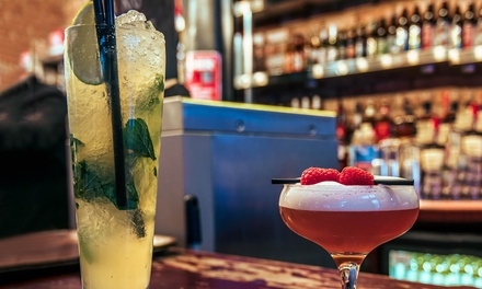 Four Classic or Premium Cocktails with Nibbles for Two at Bread and Butter