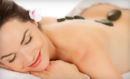 60- or 90-Minute Massage with a Hot-Stone Treatment at I'On Health (51% Off)