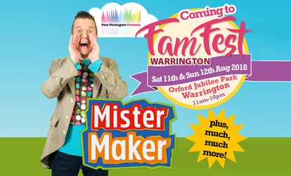 FamFest Warrington, 11–12 August at Orford Jubilee Park (Up to 47% Off)