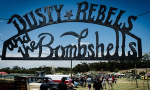 Dusty Rebels and the Bombshells: One Ticket to the Rockin' & Riding Festival for R149 with Dusty Rebels and the Bombshells (40% Off)