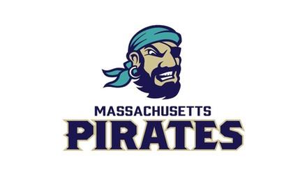 Massachusetts Pirates Indoor Football Home Games (June 23–August 4)