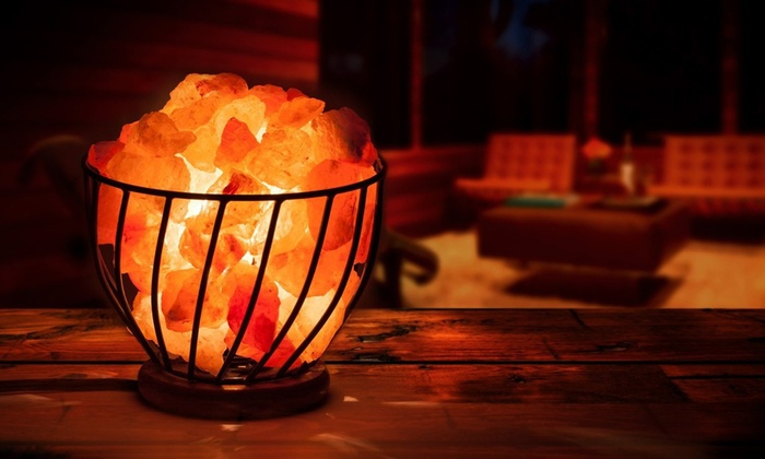 Himalayan Rock Salt Lamps Groupon Goods