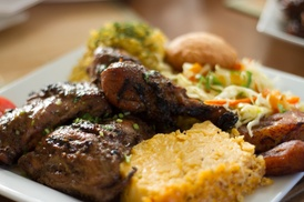 Caribbean Food at The Caribbean Cabana (48% Off). Two Options Available.