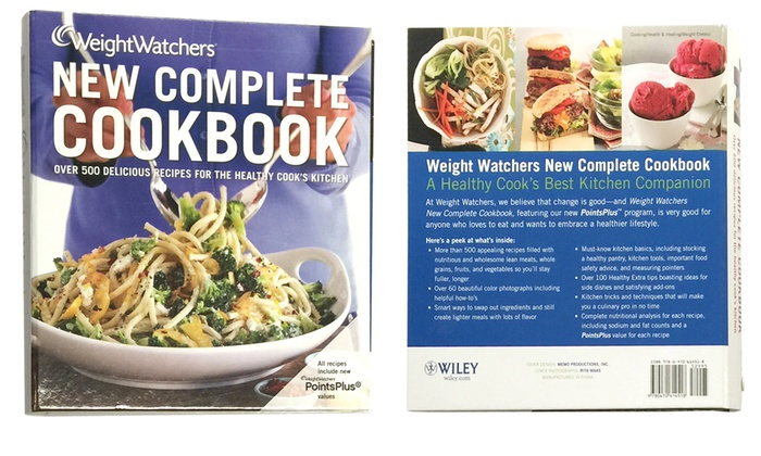 Up To 59% Off on Weight Watchers Cookbook | Groupon Goods