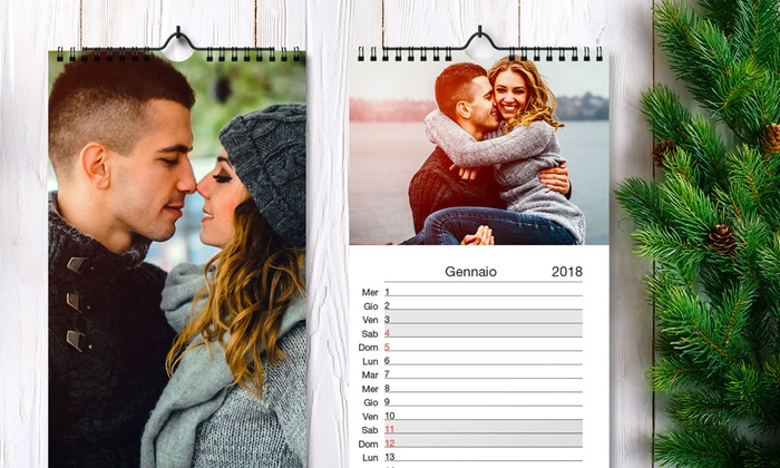 Calendario Con Foto Personali.Printerpix