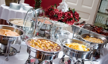 Sonntagsbrunch mit All-you-can-eat-Buffet für Zwei oder Vier im Aga's Hotel Berlin Restaurant (bis zu 61% sparen*)