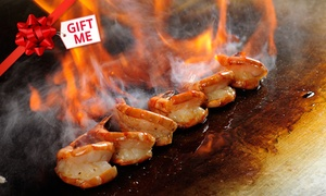 Ichiban Teppanyaki: Teppanyaki Dinner for Two ($39), Four ($75), Six ($109) or Eight People ($143) at Ichiban Teppanyaki (Up to $328 Value)