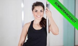 tanzraum: 2 Stunden Pole-Fitness Workshop für ein oder zwei Personen an zwei Standorten bei tanzraum (bis zu 53% sparen*)