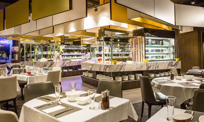 Igg International Buffet And Bar Docklands Ayce With Wine For 1 58