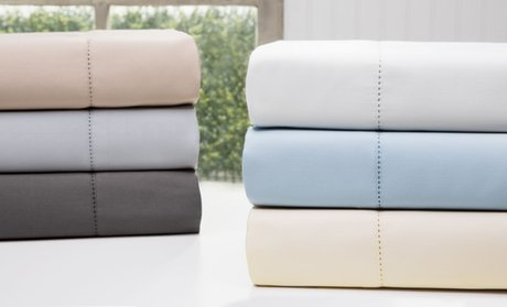 Clearance: Wexley Home 1200TC Cotton-Rich Sheet Set (4- or 6-Piece)