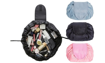 One, Two, or Three Drawstring Cosmetics Travel Bags from AED 49