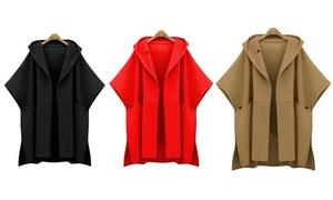 Manteau à capuche pour femme