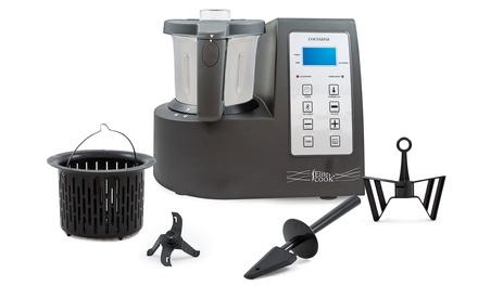 Robot de cocina cocisana lite cook con kit de vapor - Robot cocina elite cook ...
