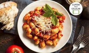 Ristorante La Pasta Gialla: Ristorante La Pasta Gialla - Cambuí: prato principal com 3 opções de massa para 1 ou 2 (opção com entrada)