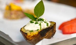 Ruszt. Mięso i warzywa z grilla: Grillowane przysmaki: 30 zł za groupon wart 50 zł i więcej na całe menu w Ruszt. Mięso i warzywa z grilla (do -42%)
