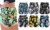 Pom-Pom Floral Cotton Shorts