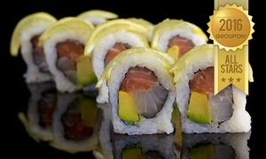 הסושיה סניף קריית אתא : הסושיה בקריית אתא: ארוחת סושי זוגית רק ב-79 ₪ או מגש סושי מסיבה ענק ב-199 ₪ בלבד