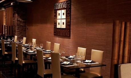 Menú thai o thai premium para 2 personas desde 19,95 € en Oam Thong