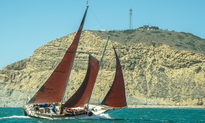 Lively Schooner Sailing Newport Beach Trips At Up To