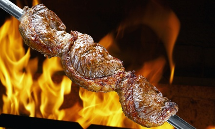 Brazilian Steakhouse Dinner with Dessert for Two or Four at Facón Brazilian Steakhouse (Up to 47% Off)