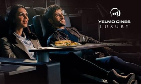 Entrada a Yelmo Cines Luxury por 10,90 €