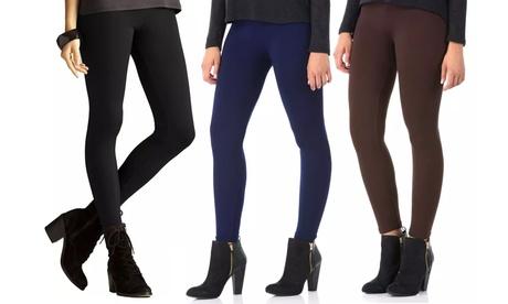 Pack de 3 o 5 leggings térmicos para invierno