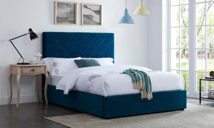 Globe Velvet Bed Frame