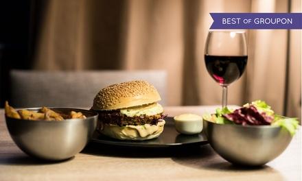 Planche apéro, 2 formules repas avec acco. à volonté, option kir et dessert dès 34,90 € au French Burgers de votre choix