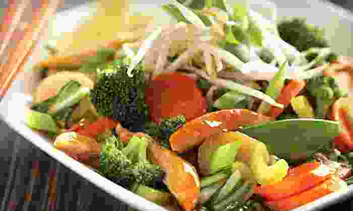 Wok Box - Multiple Locations: Fresh Asian Cuisine for Two or Four at Wok Box (Up to 56% Off)