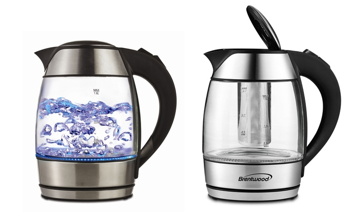 Electric Tea Kettle ~ Up to off on electric tea kettle groupon goods