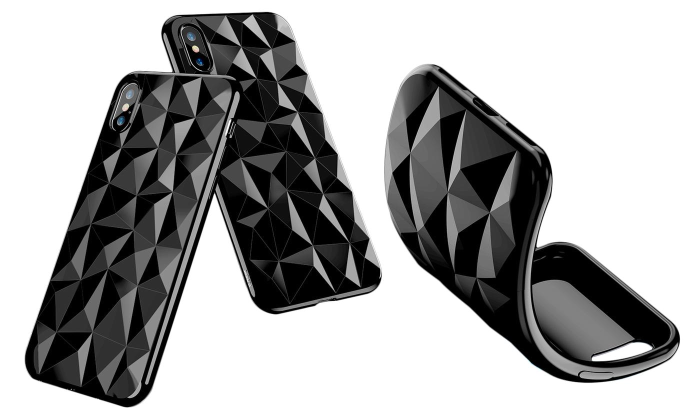 Diamond TPU Case for iPhone 6, 6 Plus, 7, 7 Plus, 8, 8 Plus and X from £3.73