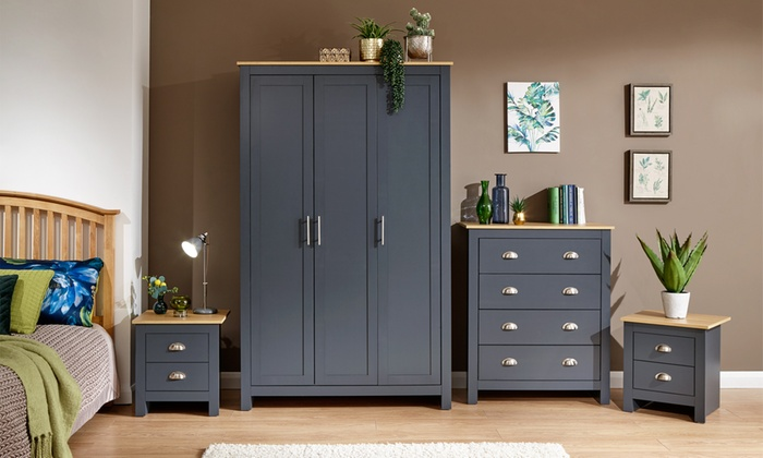 Ledbury Bedroom Furniture Range in Choice of Colour