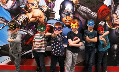 image for Superhero Laser Tag Session for One or Two at Wee Heroes (40% Off)