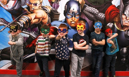 Superhero Laser Tag Session for One or Two at Wee Heroes (40% Off)
