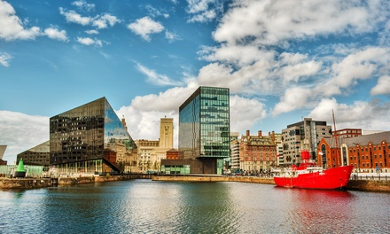 Liverpool: Up to 3-Night Stay with Breakfast, Bottle of Wine and Option for 3-Course Dinner at The Alicia Hallmark Hotel