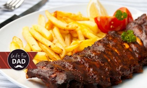 Zoo Eatery and Lounge: Pork Spare Ribs, Chips and Beer or Wine for One ($19) or Two People ($35) at Zoo Eatery and Lounge (Up to $70 Value)