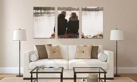 3 toiles classiques, de 60x30 cm, 80x40 cm ou 100x50 cm chacune, dès 29 € avec Picanova
